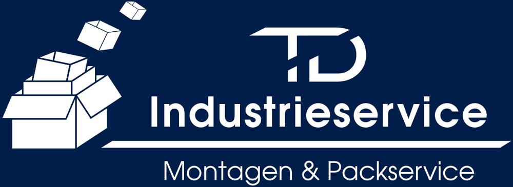 TD Industrieservice | Logo Weiß